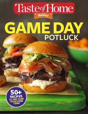 Game Day Recipes E–book