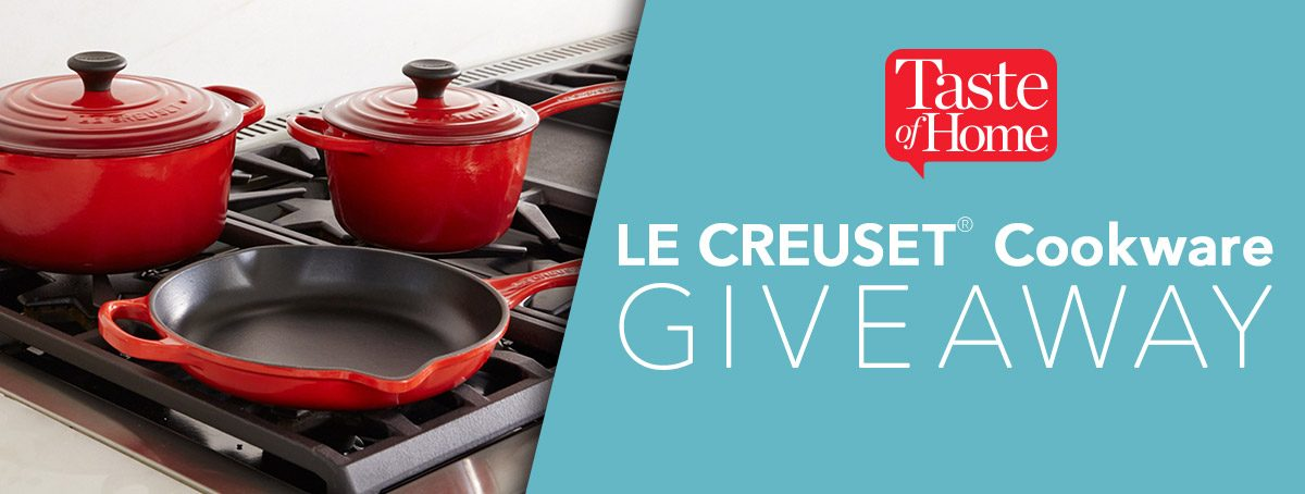 Taste of Home Le Creuset 5-Piece Signature Cookware Giveaway