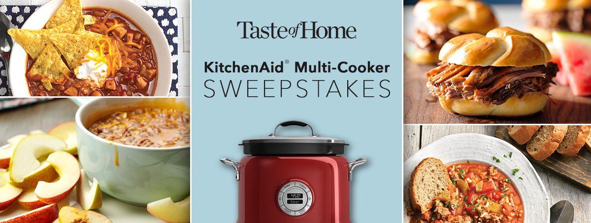 Taste of Home KitchenAid MultiCooker Giveaway