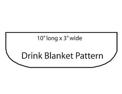 Drink Blanket Template 1