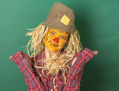 Cool Halloween Scarecrow Makeup Ideas