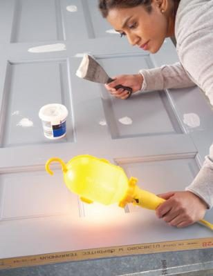 How to paint spackling