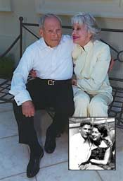 Harry Kullijian and Carol Channing