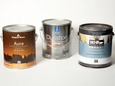Exterior house paints