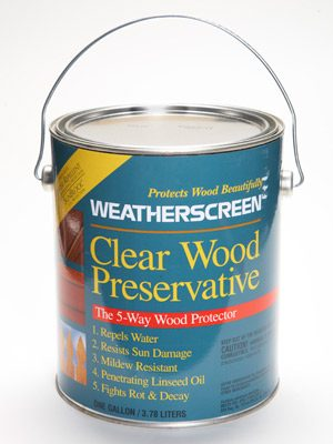 Prevent Peeling Paint With Water Repellent Preservative