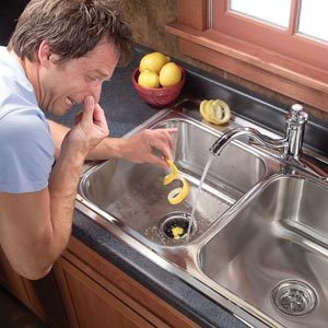 Kitchen Ideas How To Clean A Stinky Garbage Disposer