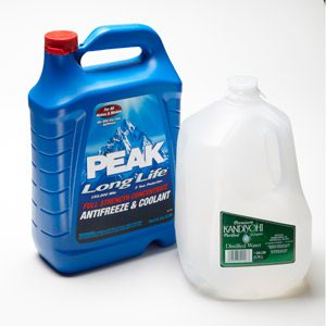 Antifreeze Flushing Tip