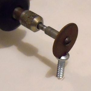 Removing a stripped Phillips head screw