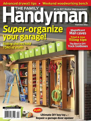 The Family Handyman September 2011 issue
