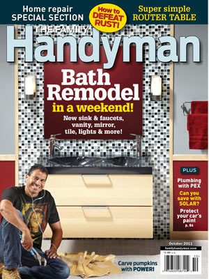 The Family Handyman October 2011 Issue