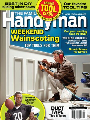 The Family Handyman November 2011 issue