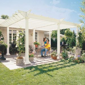 Classic pergola, The Family Handyman, June 2002