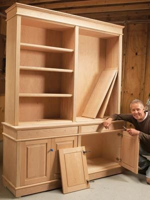 Bookcases Pro Shortcut For Diy Furniture Makers Diy