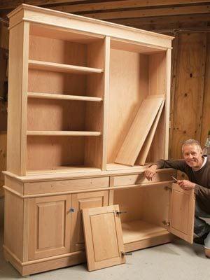 Bookcases Pro Shortcut For Diy Furniture Makers Diy