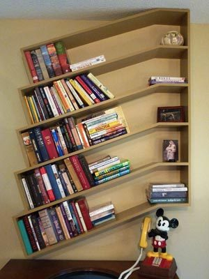 Good Slanted Bookshelves