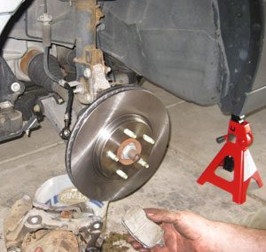 Replacing Brake Rotors and Brake Pads