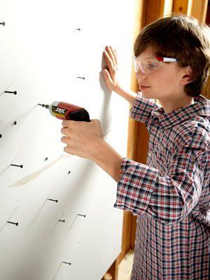 Teaching kids to DIY