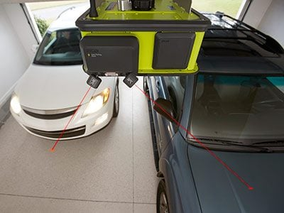 Meet the 2-HP Ultra-Quiet Ryobi Garage Door Opener