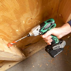 Drilling with an Impact Driver