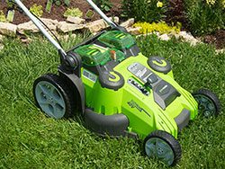Greenworks - Lawnmower 1