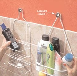 Hang a second shower caddy