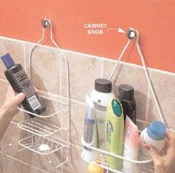 Hang a second shower caddy