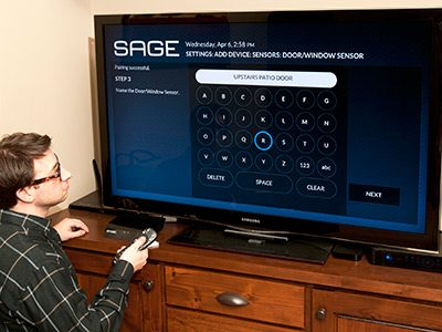 Installing the SAGE Security System