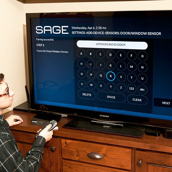 SAGE Security and Home Automation