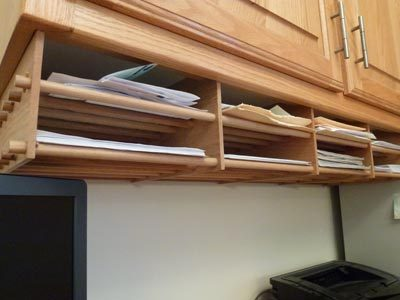 1/2-inch dowels form the shelves