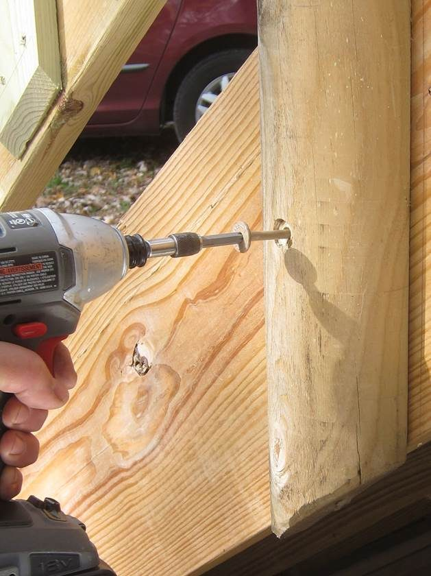 Simpson Strong-Tie® Strong-Drive® TIMBER Screw