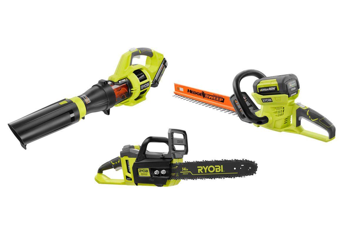 Ryobi 40-volt Tools