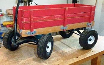 Rust-Oleum - Wagon Before