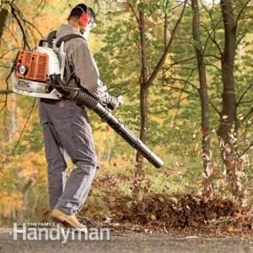 Commercial-grade backpack leaf blower