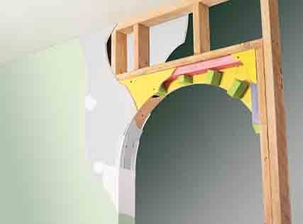 Build a Drywall Arch