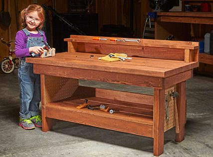 Mini Classic Workbench for Kids