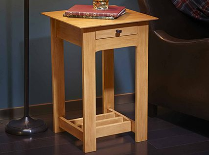Rennie Mackintosh End Table