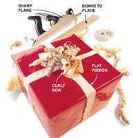 Personalize Holiday Gifts With Handmade Bows Made From Wood