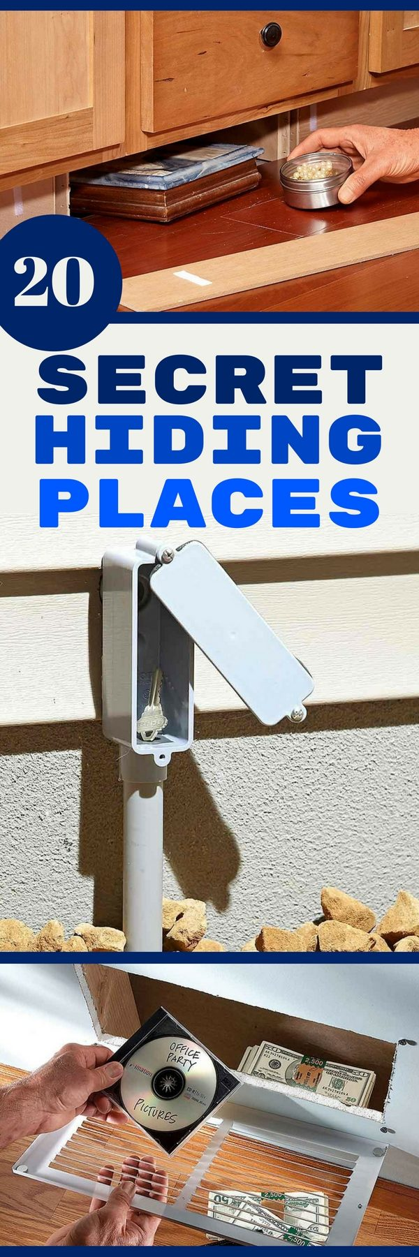 20 Secret Hiding Places The Family Handyman