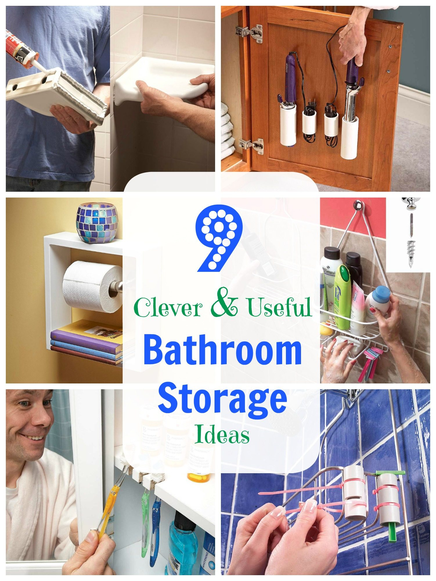Clever And Useful Bathroom Storage Tips The Family Handyman