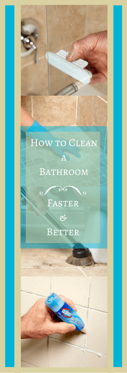 How to clean a bathroom faster and better the family handyman for How to properly clean a bathroom