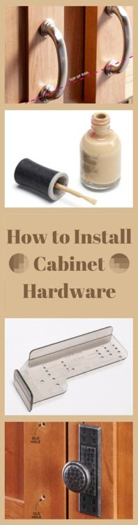 how to install kitchen cabinet handles how to install cabinet hardware the family handyman 8692