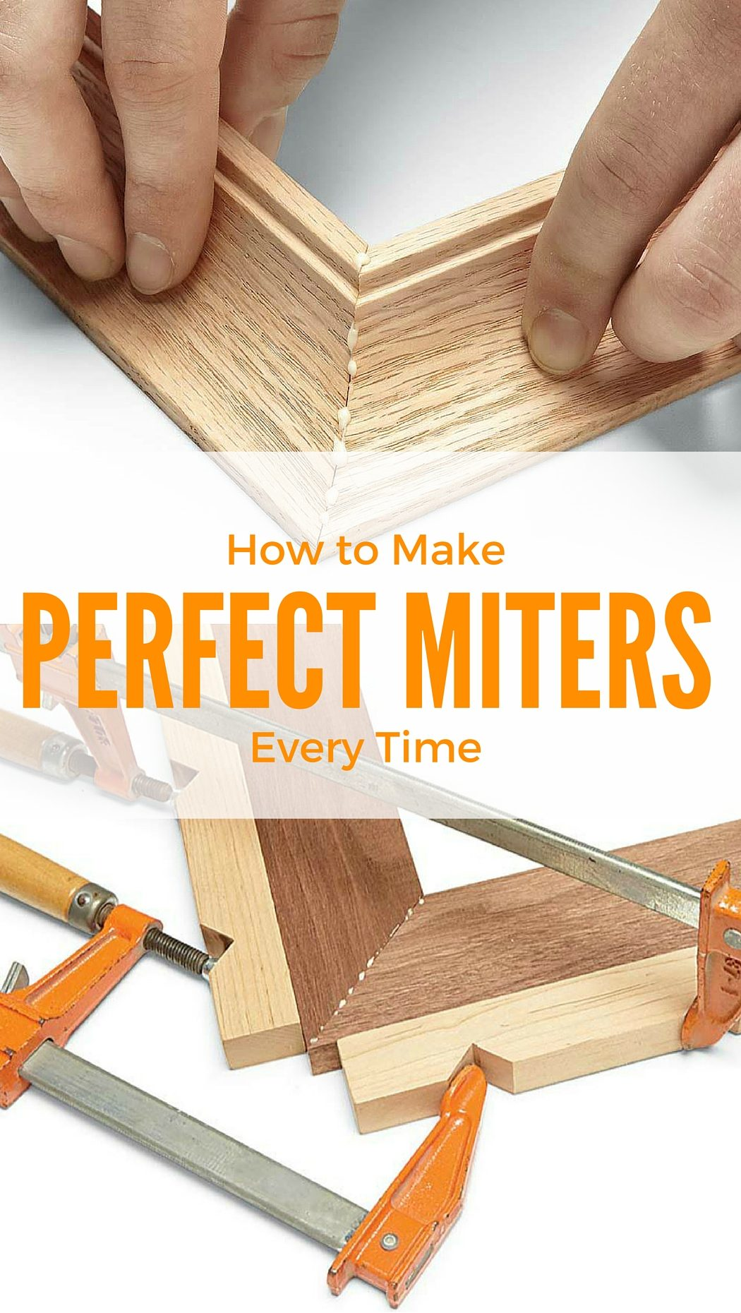 Perfect miters every time the family handyman for Free money to build a house