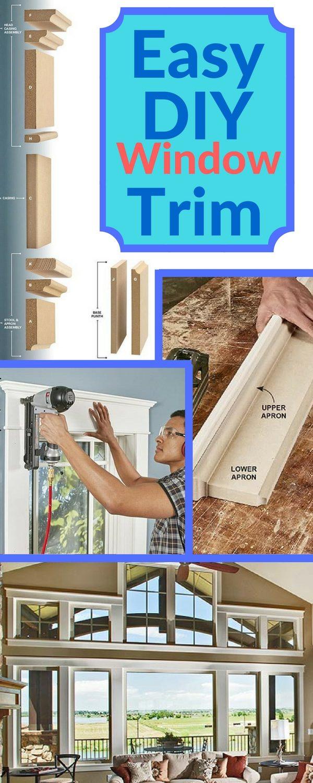 Installing Window Trim The Easy Way Mdf Trim Molding