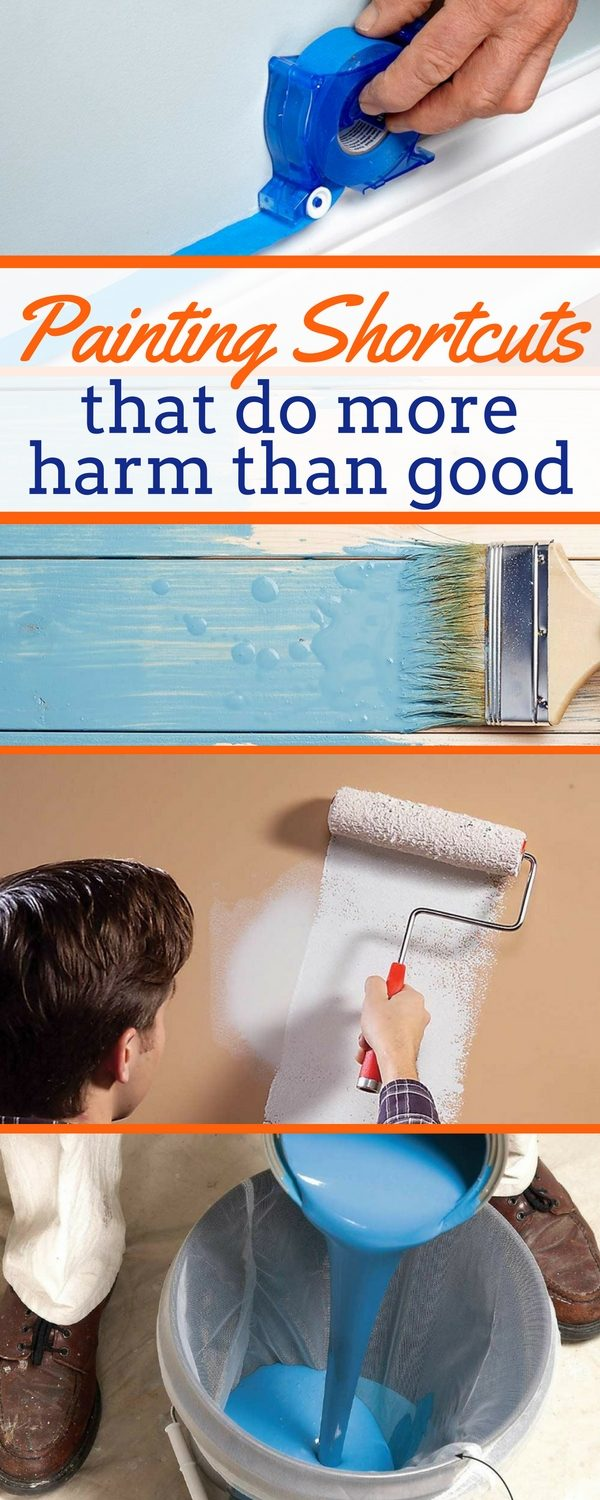 Do It Yourself Home Design: 11 Wall Painting Shortcuts That Do More Harm Than Good