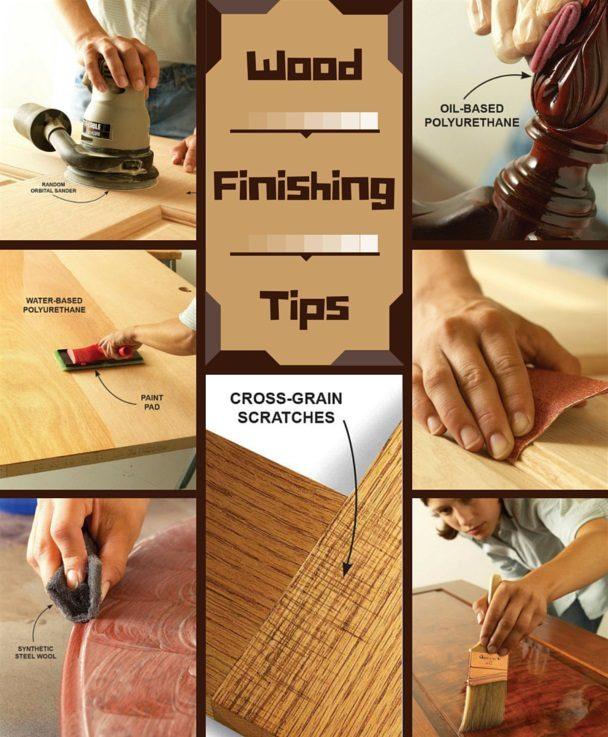 Wood Finishing Tips The Family Handyman