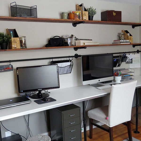 8 home office desk organization ideas you can diy the Home office organization ideas