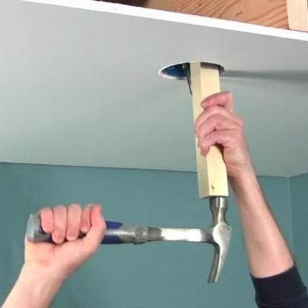 How To Install A Ceiling Fan Brace The Family Handyman