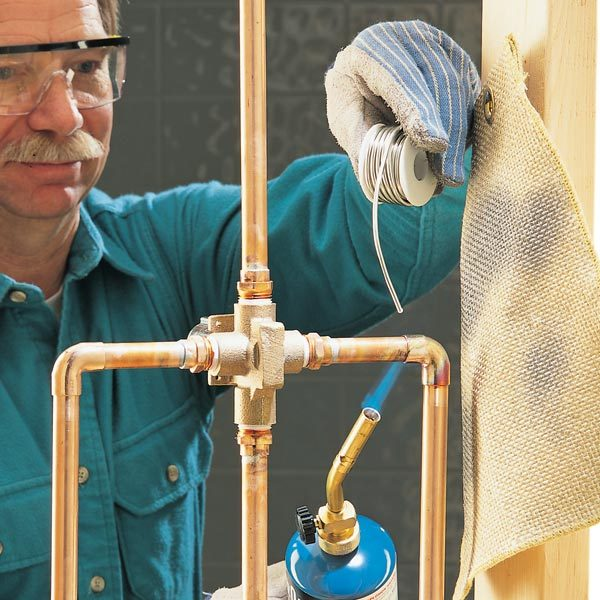 How To Sweat Copper Pipe The Family Handyman