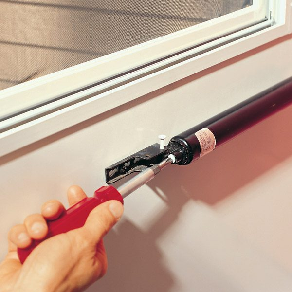 Adjusting A Storm Door Closer The Family Handyman