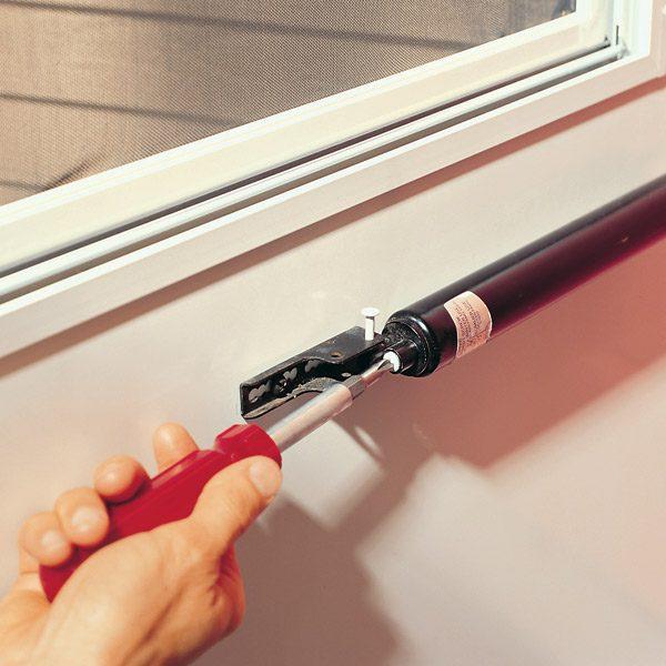 Adjusting A Storm Door Closer The Family Handyman